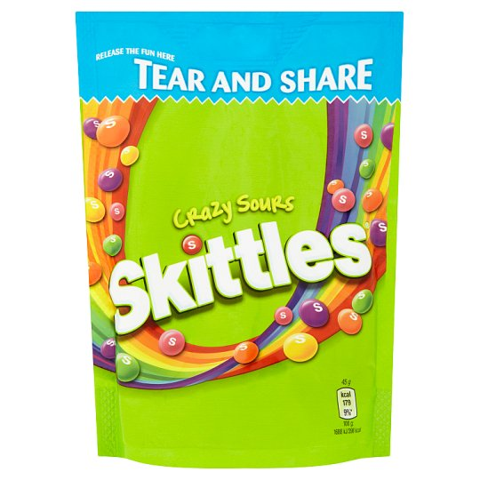 Skittles sour žvýkací bonbóny