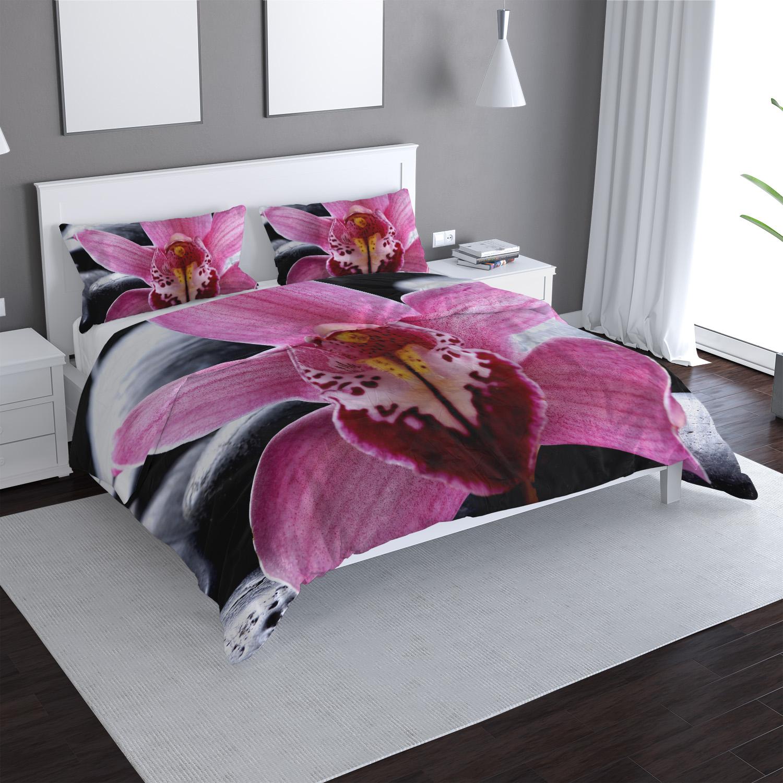 Růžová orchidea