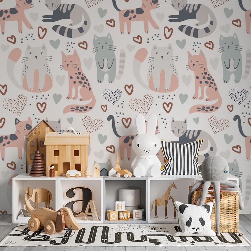 Malované kočičky