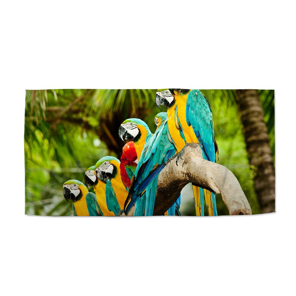 Papoušci na větvi