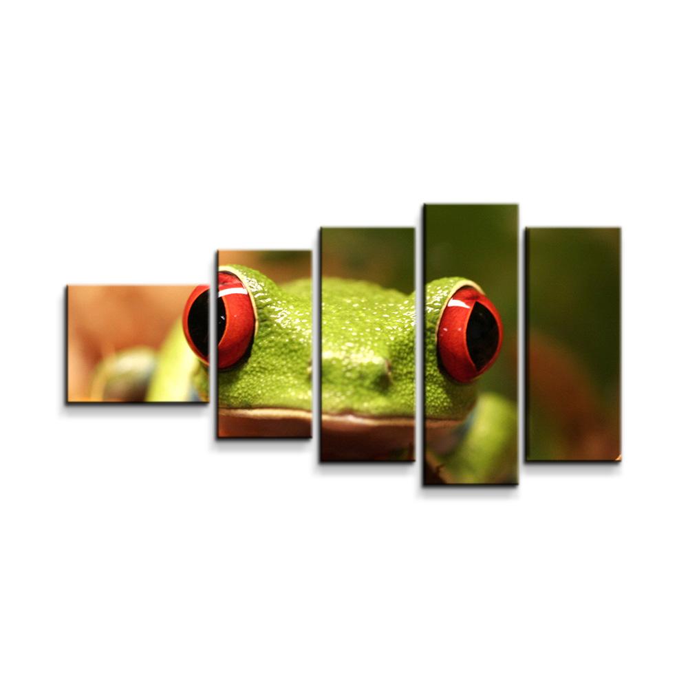 Zelená žába