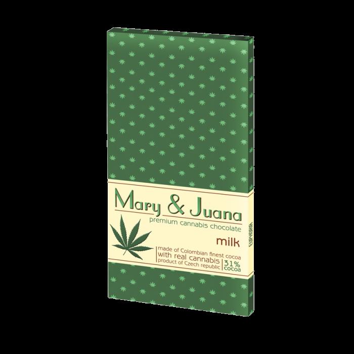 MARY & JUANA mléčná čokoláda