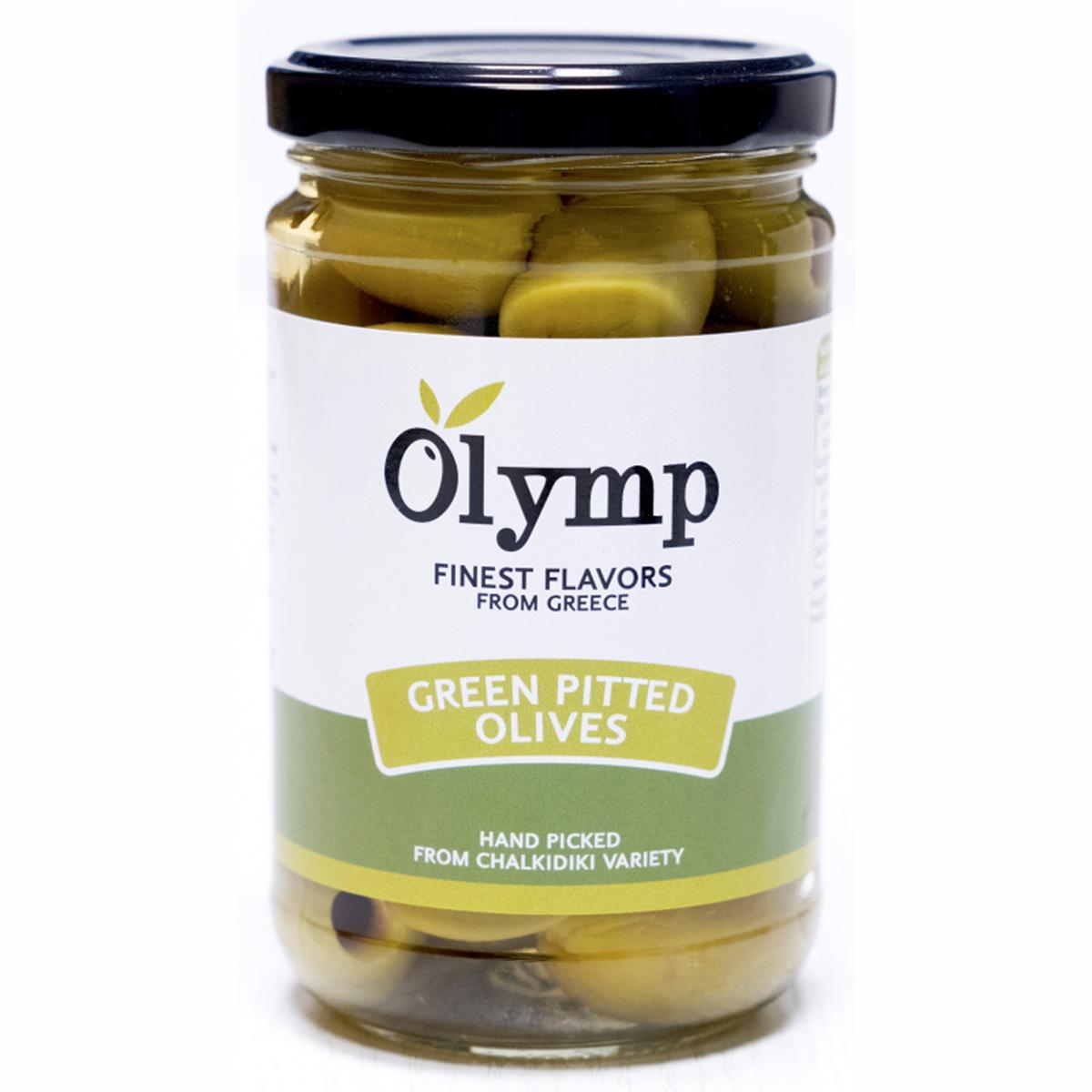 Olymp Zelené olivy bez pecky