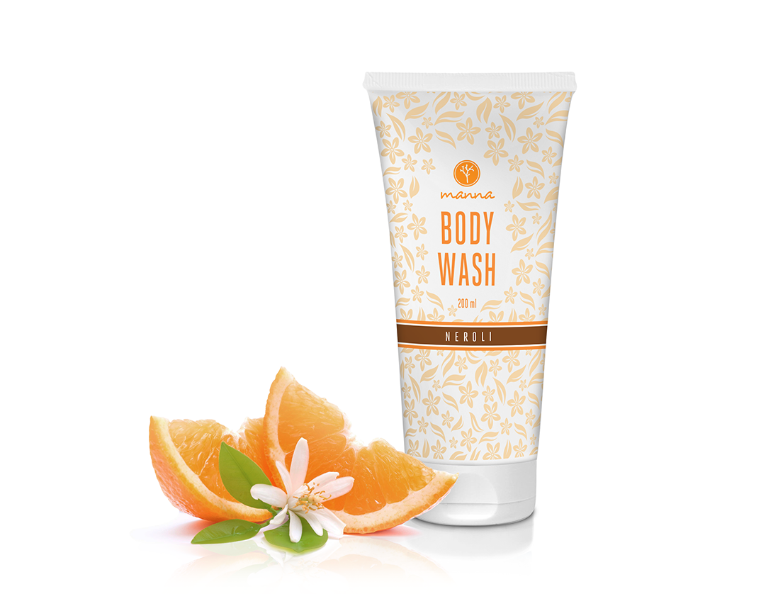 Sprchový gel s vůní pomerančových květů