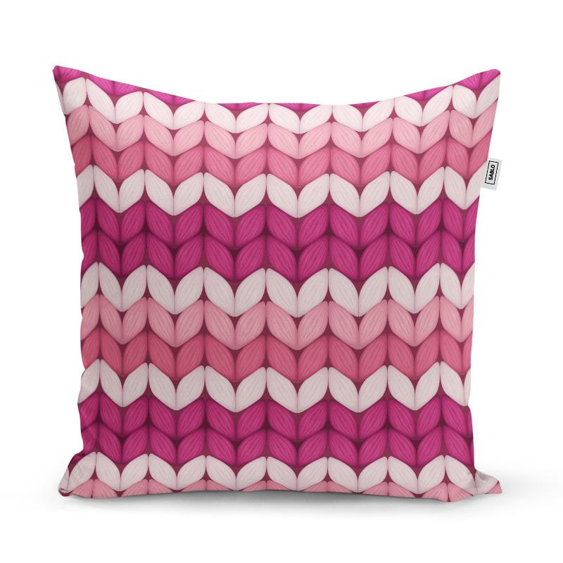 třídajíci růžové pletení