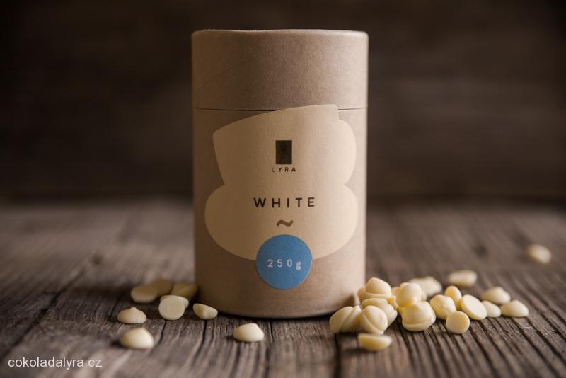 Bílá čokoláda na přípravu (nejen) horké čokolády