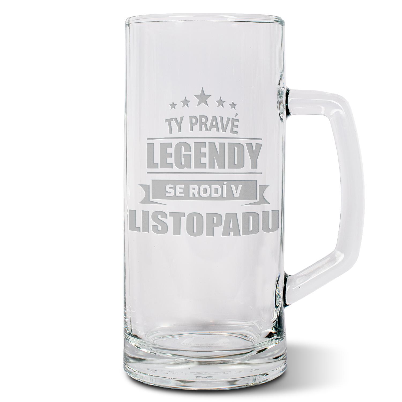 Ty pravé legendy se rodí v listopadu