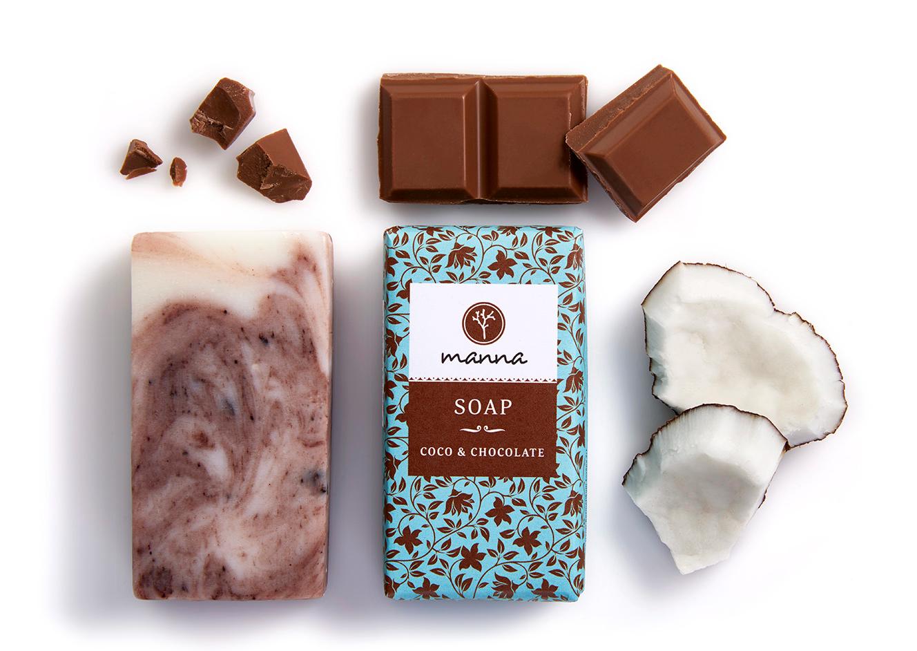 COCO čokoládové mýdlo