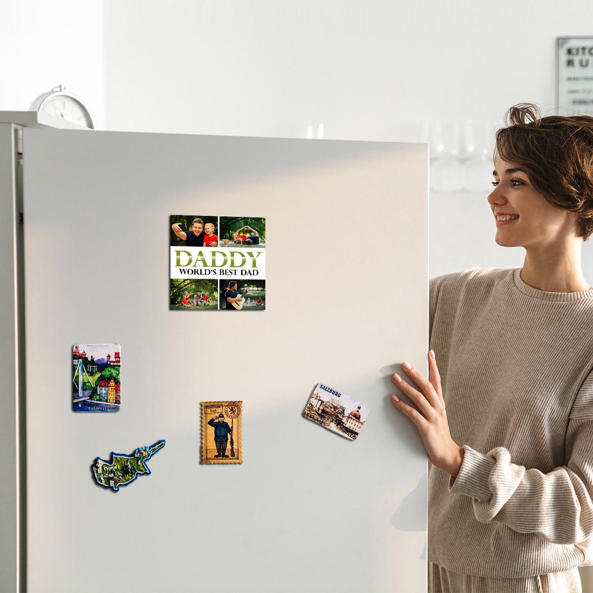 Magnetka na lednici