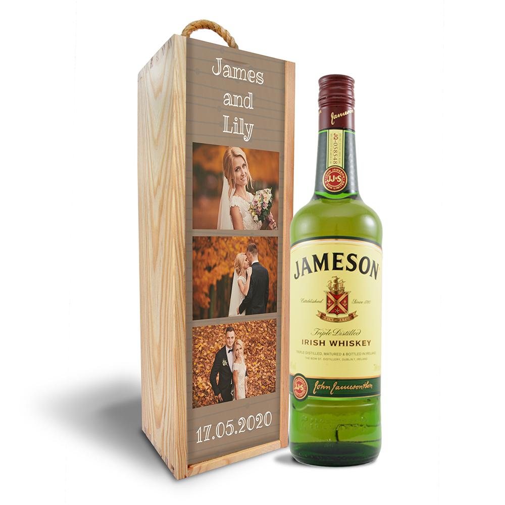 Dřevěná krabička Jameson