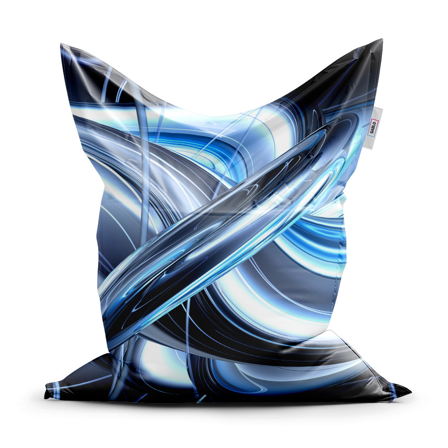 Modrá abstrakce