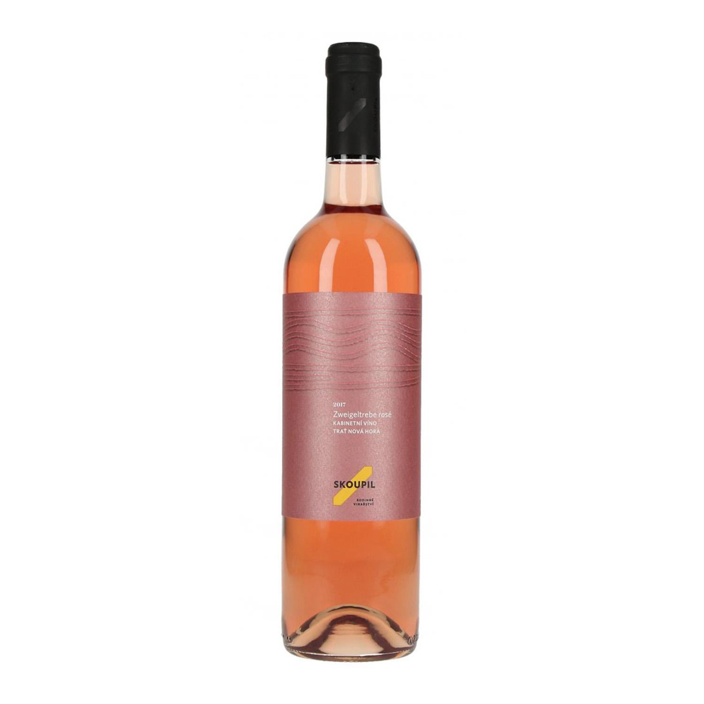 Zweigeltrebe rosé 2018, kabinetní víno, suché