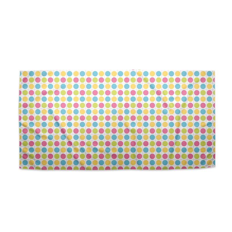 Veselé barevné puntíci