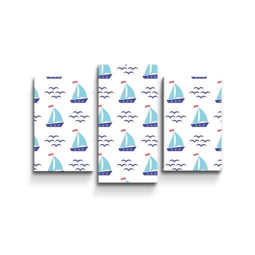 Modré lodičky