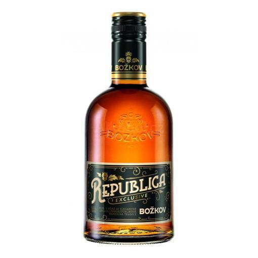 Rum Republica Exclusive Božkov 0,7l
