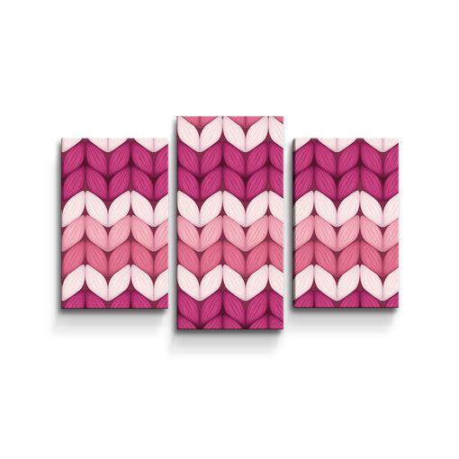 Střídajíci růžové pletení