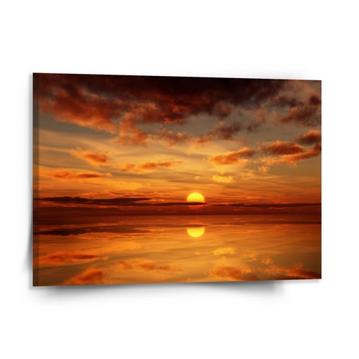 Oranžové slunce