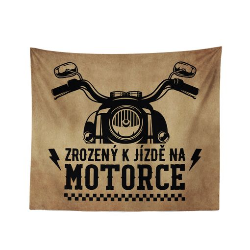 Zrozený k jízdě na motorce