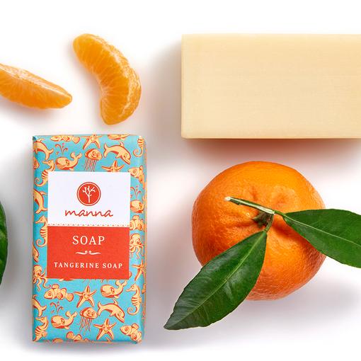 Mandarinkové mýdlo