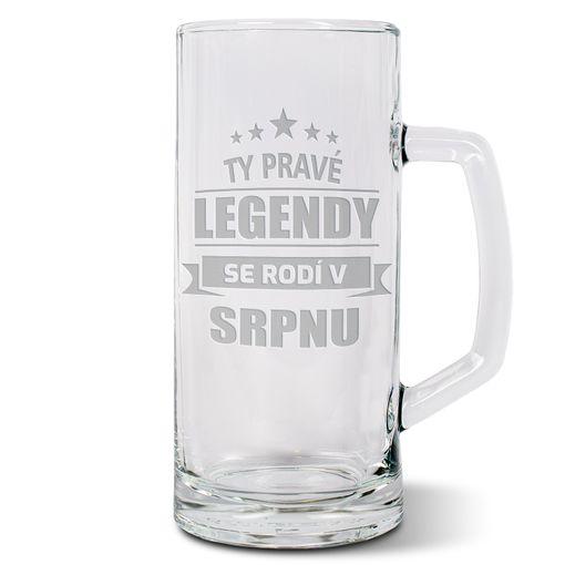 Ty pravé legendy se rodí v srpnu