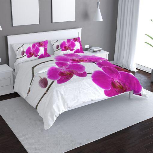 Fialové orchideje
