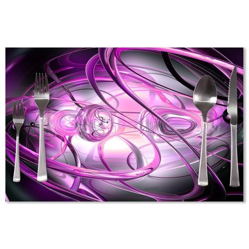 Fialová abstrakce