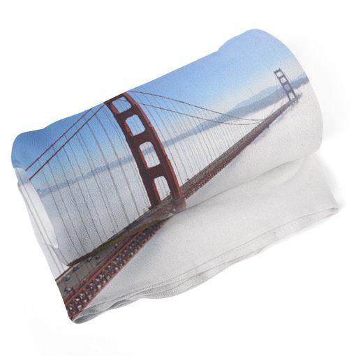 Golden Gate v mlze