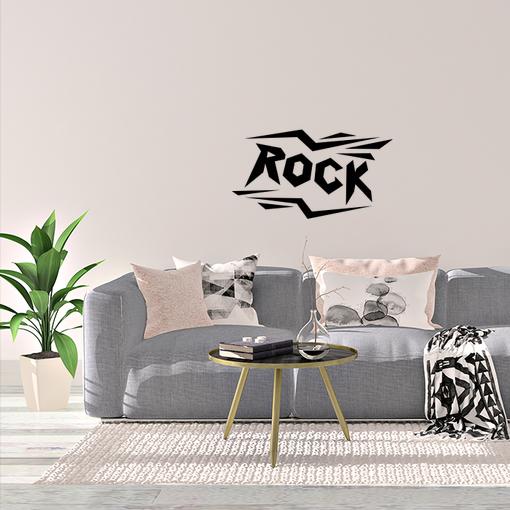 nápis Rock