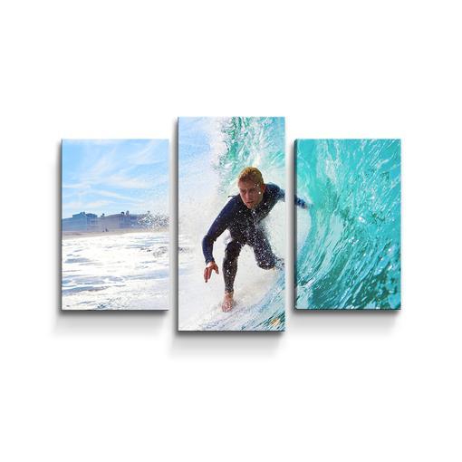 Surfař na vlně