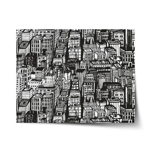 Kreslené mrakodrapy