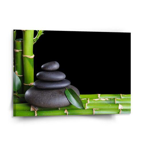 Bambus a kameny