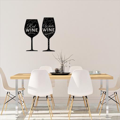 Skleničky vína