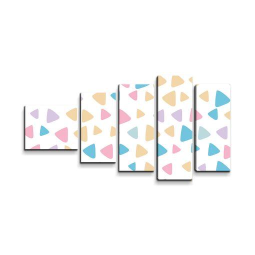 Barevné trojúhelníčky