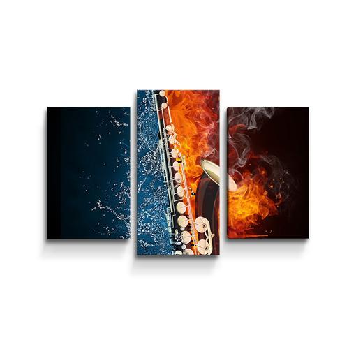 Ohnivý saxofon