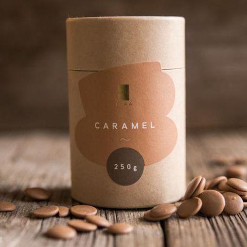 Mléčná čokoláda s karamelem na přípravu (nejen) horké čokolády