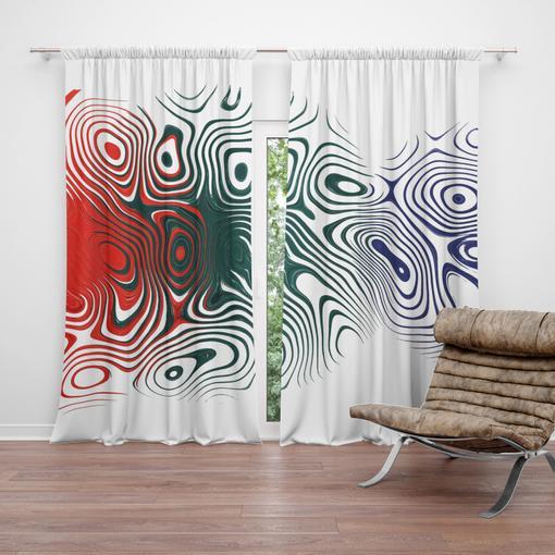 Dvoubarevná abstrakce