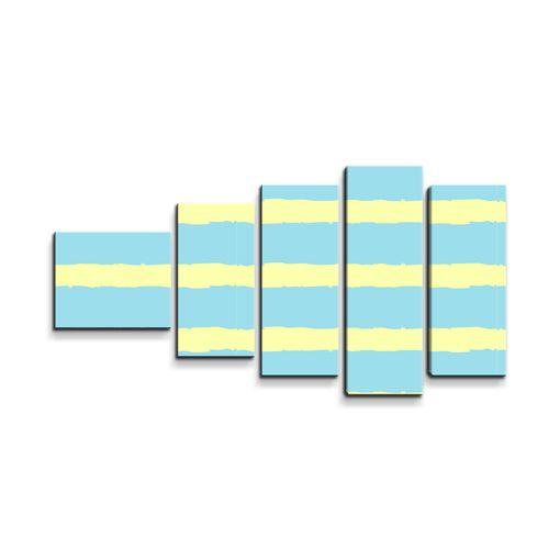 Modrožluté pruhy