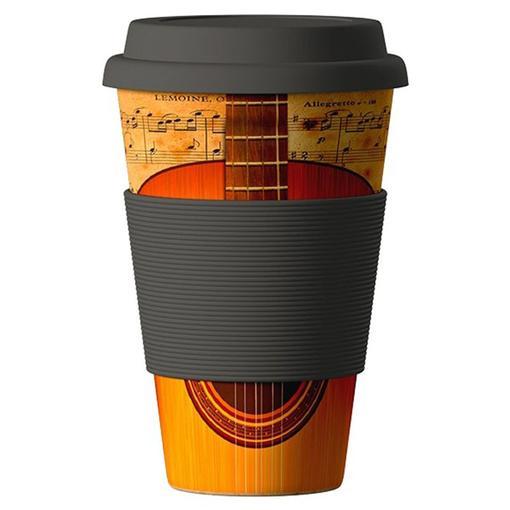 Bamboo cup termohrnek Kytara