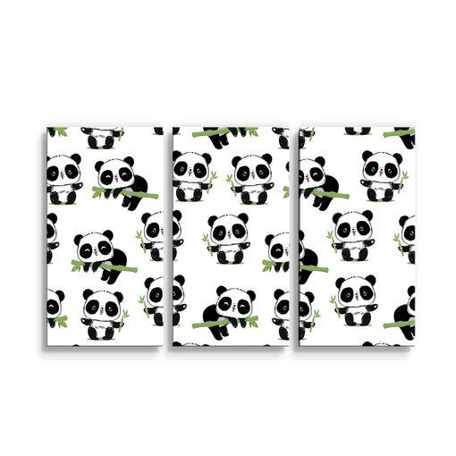 Pandy s větvičkou
