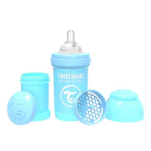 Kojenecká láhev - Anti-Colic - pastelově modrá