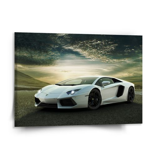 Bílé Lamborghini