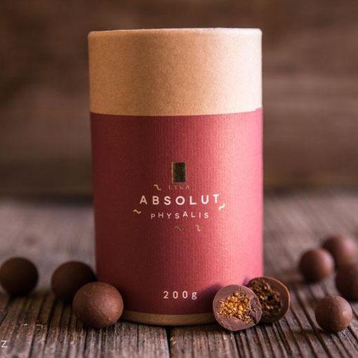 Přepražená mochyně peruánská v mléčné čokoládě