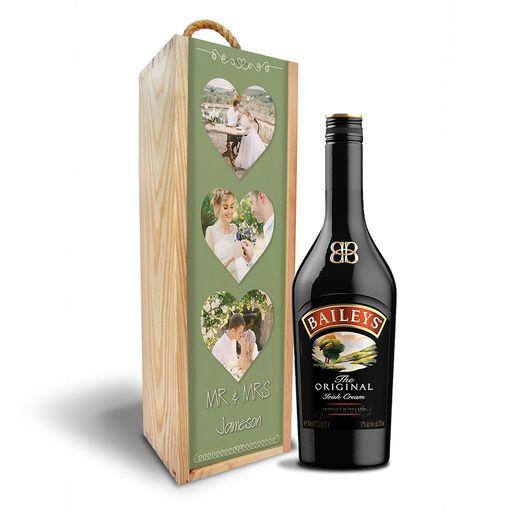 Dřevěná krabička Baileys