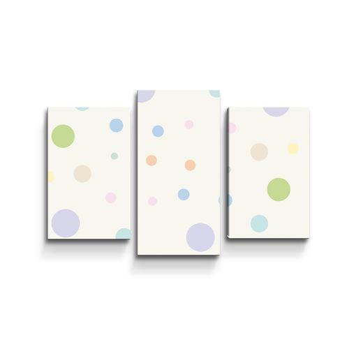 Tříbarevné puntíky