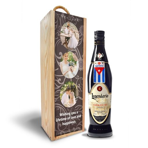 Dřevěná krabička Legendario Elixir de Cuba 7y