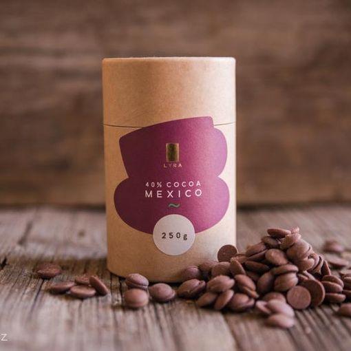 Mléčná čokoláda MEXICO na přípravu (nejen) horké čokolády