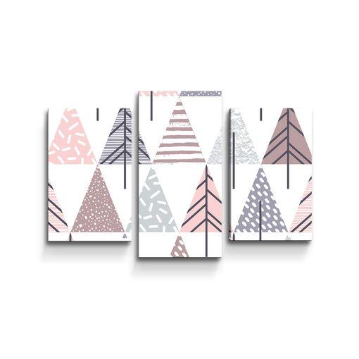 Barevné stromky
