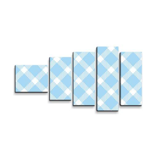 Modrobílé čtverce