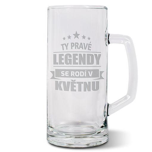 Ty pravé legendy se rodí v květnu