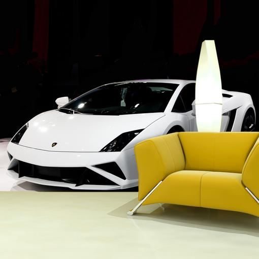 Bílé Lamborghini 2